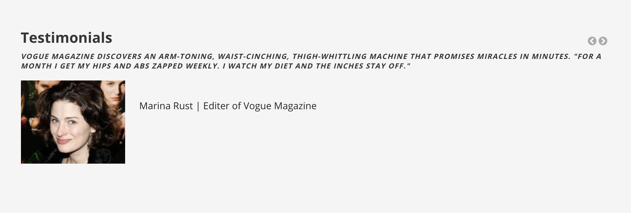Vogue Magazine Pico Toner